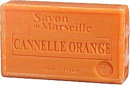 """Parfumuri și produse cosmetice Săpun natural """"Portocală și scorțișoară"""" - Le Chatelard 1802 Soap Orange & Cinnamon"""