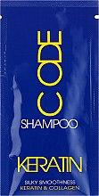 Духи, Парфюмерия, косметика Шампунь для волос - Stapiz Keratin Code Shampoo (пробник)