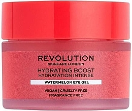 Parfumuri și produse cosmetice Увлажняющий гель для кожи вокруг глаз с арбузом - Revolution Skincare Hydration Boost Watermelon Eye Gel