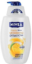 "Cremă-Gel de duș ""Fericire"" - Nivea Bath Care Happy Time Shower Gel — Imagine N2"