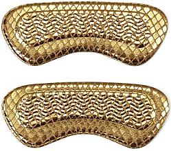 Parfumuri și produse cosmetice Branturi pentru pantofi cu toc, aurii - Avon