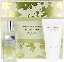 Parfumuri și produse cosmetice Angel Schlesser Eau De Cologne Bergamota - Set (edc/100ml+sh/gel/150)