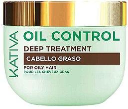 Parfumuri și produse cosmetice Mască pentru păr gras - Kativa Oil Control Deep Treatment