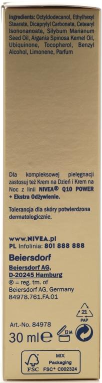 Ulei de față - Nivea Visage Q10 Power Extra — Imagine N3