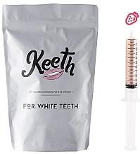 Parfumuri și produse cosmetice Set cartuș de înlocuire pentru albirea dinților - Keeth Strawberry Refill Pack