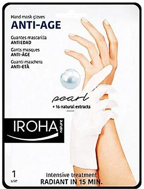 Masca pentru mâini - Iroha Nature Anti Age Hand Mask Gloves — Imagine N1
