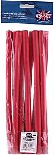 Parfumuri și produse cosmetice Bigudiuri profesionale flexibile 12/240, roșu - Ronney Professional Flex Rollers