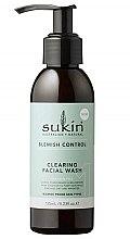 Parfumuri și produse cosmetice Gel de spălare pentru față - Sukin Blemish Control Clearing Facial Wash