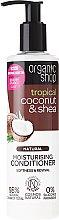 """Parfumuri și produse cosmetice Balsam de păr """"Cocos și unt de Shea"""" - Organic Shop Coconut And Shea Conditioner"""