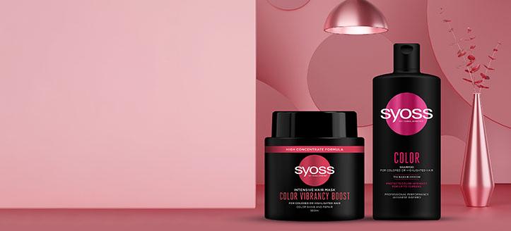 Reducere 15% la gama promoțională pentru îngrijirea părului Syoss. Prețurile pe site sunt prezentate cu reduceri