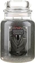 Parfumuri și produse cosmetice Lumânare aromată (borcan) - Country Candle Grey