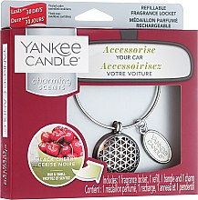 Parfumuri și produse cosmetice Aromatizator auto - Yankee Candle Charming Scents Black Cherry Set