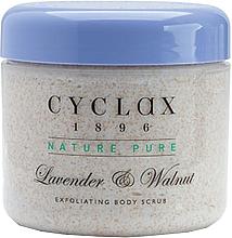 Parfumuri și produse cosmetice Скраб для тела с лавандой и грецким орехом - Cyclax Nature Pure Lavender & Walnut Exfoliating Body Scrub