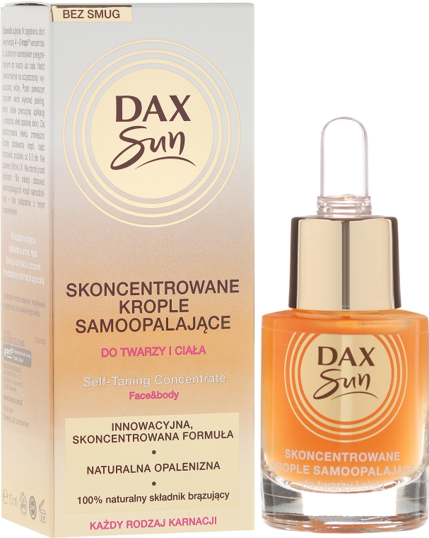 Concentrat pentru bronzare - Dax Sun Self-tanning Concentrated Drops