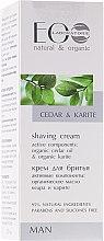 Parfumuri și produse cosmetice Cremă de ras - ECO Laboratorie Man's Shaving Cream Cedar & Karite