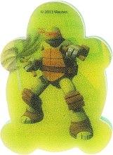 """Parfumuri și produse cosmetice Burete de baie pentru copii """"Țestoasele Ninja"""" Michelangelo 5 - Suavipiel Turtles Bath Sponge"""