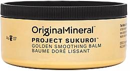 Parfumuri și produse cosmetice Balsam netezitor pentru păr  - Original & Mineral Project Sukuroi Gold Smoothing Balm