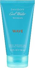 Parfumuri și produse cosmetice Davidoff Cool Water Wave Woman - Gel de duș