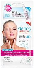 Parfumuri și produse cosmetice Ser-mască pentru față - Dermo Pharma Skin Lightening