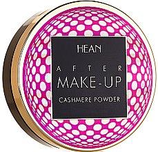 Parfumuri și produse cosmetice Pudră pentru față - Hean After Makeup-up Cashmere Compact Powder