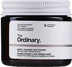 Parfumuri și produse cosmetice Vitamina C, pulbere - The Ordinary 100% L-Ascorbic Acid Powder