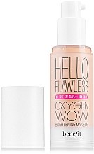 Parfumuri și produse cosmetice Fond de ten - Benefit Hello Flawless Oxygen Wow SPF25 PA+++