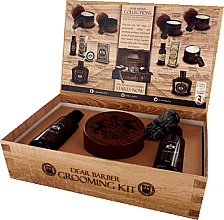 Parfumuri și produse cosmetice Dear Barber IV Shave Care Collection - Set (shave/cr/100ml + shave/oil/30ml + edt/30ml)