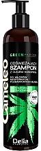 Parfumuri și produse cosmetice Șampon revigorant cu ulei de cânepă - Delia Cosmetics Cameleo Green Shampoo