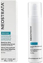 Parfumuri și produse cosmetice Ser neutralizant pentru ten sensibil - Neostrata Restore Reactive Skin Neutralizing Serum 6% PHA