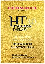 Parfumuri și produse cosmetice Mască-peeling pentru față - Dermacol Hyaluron Therapy 3D Revitalising Peel-off Mask
