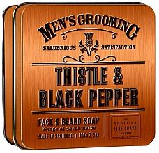 Parfumuri și produse cosmetice Scottish Fine Soaps Men's Grooming Thistle & Black Pepper - Săpun