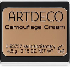 Parfumuri și produse cosmetice Водостойкий маскирующий крем-консилер - Artdeco Camouflage Cream Concealer
