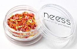 Parfumuri și produse cosmetice Luciu pentru unghii, romburi - Neess Blink Effect Jet Decoration
