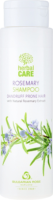 Șampon împotriva mătreții - Bulgarian Rose Herbal Care Rosemary Shampoo