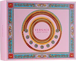 Parfumuri și produse cosmetice Versace Bright Crystal - Set (edt/50ml + b/lot/50ml + sh/gel/50ml)