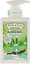 """Parfumuri și produse cosmetice Spumă de baie pentru copii """"Hidratare"""" - Jack N' Jill Bubble Bath Simplicity"""