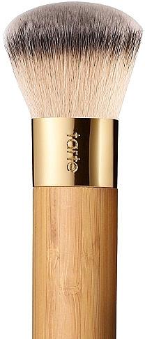 Pensulă pentru fond de ten - Tarte Cosmetics Airbrush Finish Bamboo Foundation Brush — Imagine N1