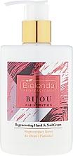 Parfumuri și produse cosmetice Cremă pentru mâini și unghii - Bielenda Professional Nailspiration Bijou Regenerating Hand & Nail Cream