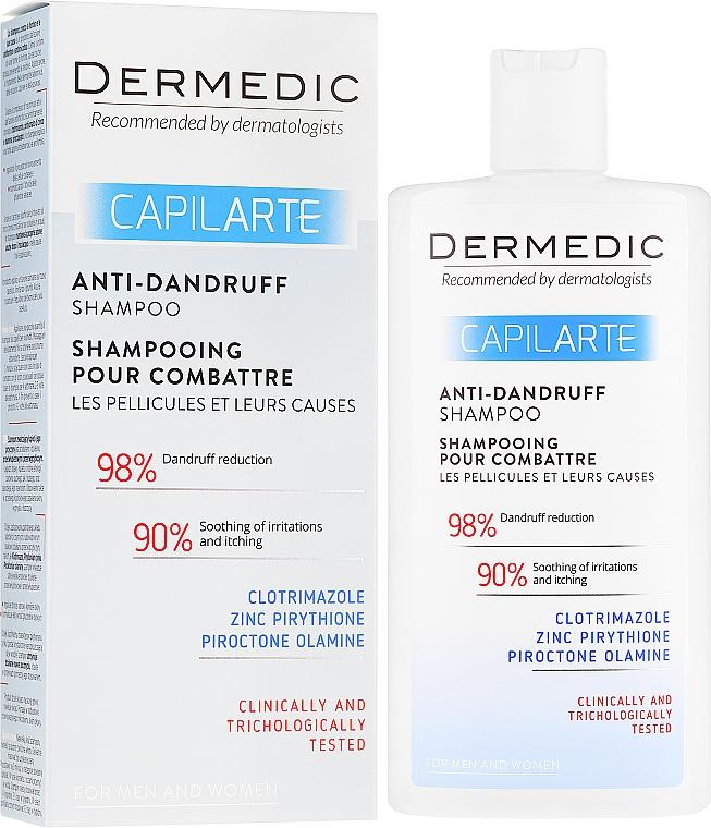 Șampon împotriva mătreții - Dermedic Capilarte Shampoo