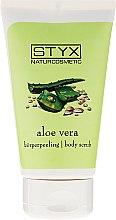 """Parfumuri și produse cosmetice Scrub de corp """"Aloe Vera"""" - Styx Naturcosmetic Aloe Vera Body Scrub"""