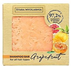 "Parfumuri și produse cosmetice Твердый шампунь ""Грейпфрут"" - Stara Mydlarnia Grapefruit Shampoo Bar"