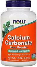 Parfumuri și produse cosmetice Carbonat de calciu, pulbere, 340g - Now Foods Calcium Carbonate Powder
