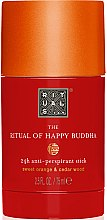 Parfumuri și produse cosmetice Deodorant-stick - Rituals The Ritual of Happy Buddha Anti-Perspirant Stick