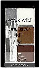 Set pentru sprâncene - Wet N Wild Ultimate Brow Kit — Imagine N1