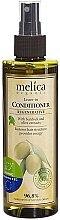 Parfumuri și produse cosmetice Balsam regenerant fără clătire, cu extract de brusture și măsline - Melica Organic Leave-in Regenerative Conditioner