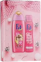 Parfumuri și produse cosmetice Set - Fa Pink Passion (sh/gel/250ml + deo/spray/150ml)