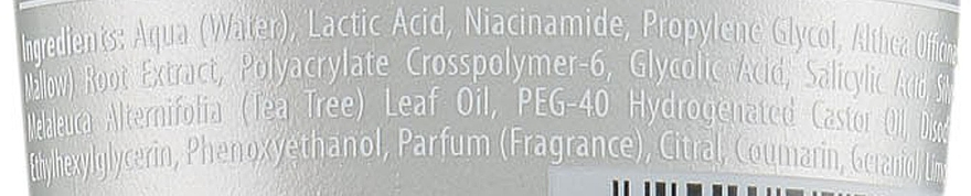 Gel exfoliant pentru picioare - Bielenda ANX Podo Detox Gel — Imagine N3