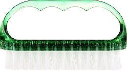 Parfumuri și produse cosmetice Perie cosmetică pentru unghii, 74752, verde - Top Choice