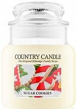 Parfumuri și produse cosmetice Lumânare aromată - Country Candle Sugar Cookies