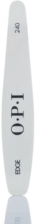 Pilă de unghii - O.P.I White Cushioned File — Imagine N1